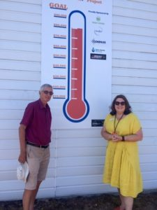 Fundraising thermometer